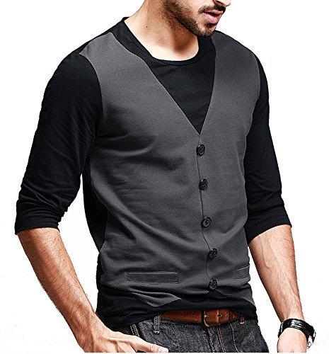Seven Rocks Regular Fit Men's Cotton T-Shirt (T4)