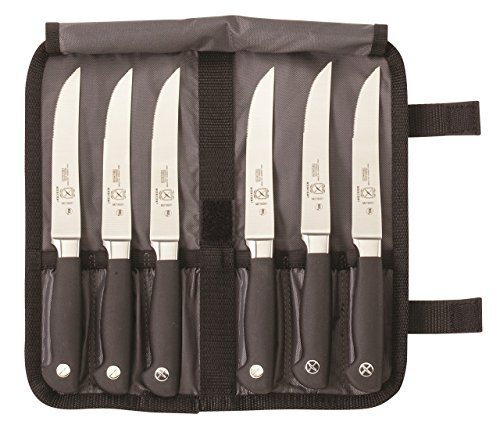Mercer Culinary Genesis 7-Piece Forged Steak Knife Set ()