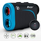 Best Golf Range Finders - Bozily Golf Rangefinder, 6X Rechargeable Laser Range Finder Review