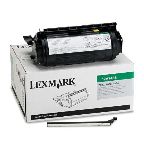 - Lexmark 12A7468 High-Yield Toner Cartridge, Black - in Retail Packaging