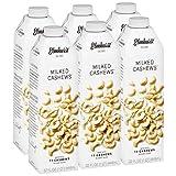 6pk Milked Cashew 32 oz. Creamy & Delicious Cashew Milk. More Nuts! More Nutrition! Gluten Free, Lactose Free, Vegan Beverage.