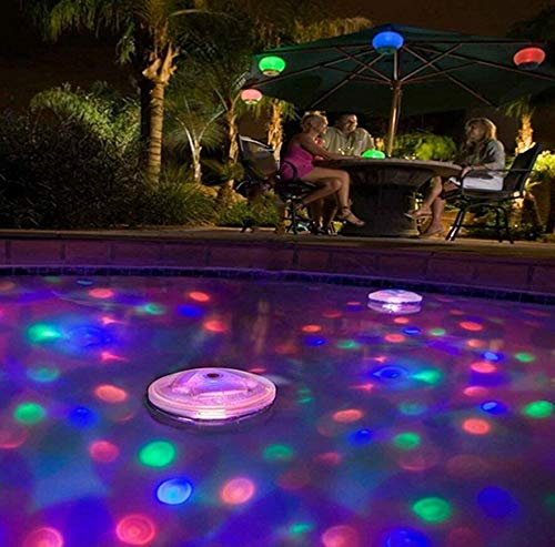 Floating Disco Underwater Led Light Show in US - 9