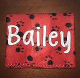 Dog Blanket, Personalized Blanket, Personalized Dog Blanket, Pet Blanket, Dog Gift, Pet Gift, Dog Accessories, ferret blanket, guinea pig
