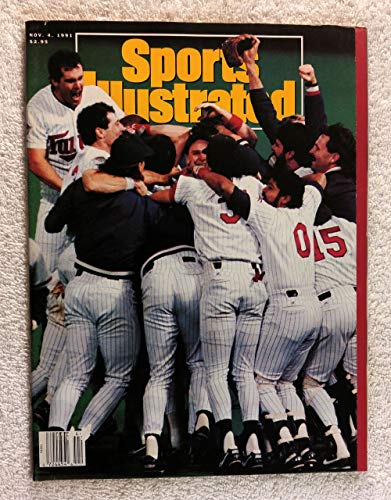 Twins Win! - Minnesota Twins - 1991 World Series Champions! - Sports Illustrated - November 4, 1991 - Atlanta Braves - -