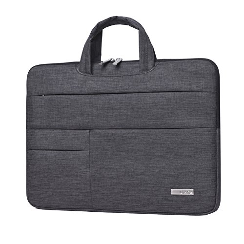 14 Inch Laptop sleeve Tablet Bag with Hand Strap Feisman Wat