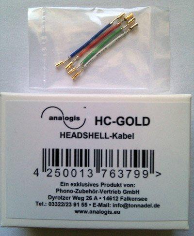 Cable para Célula Tocadiscos Vinyl Placa Oro: Amazon.es: Electrónica