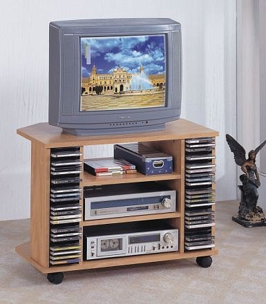 tv stand with casters. Natural Finish Tv Stand With Casters