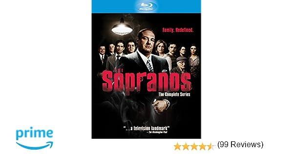 Sopranos Complete Collection. The Edizione: Regno Unito Reino Unido Blu-ray: Amazon.es: James Gandolfini, Lorraine Bracco, Edie Falco, Michael Imperioli, ...