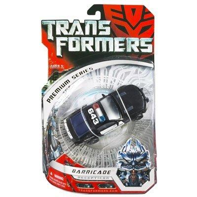 Transformers Premium Series Deluxe Class Action Figure - Decepticon Barricade ()