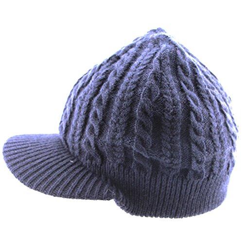 de Hecho a Invierno Moda Sombrero 1 Punto 2 de Jacquard Maozi Mano OUEw0q7