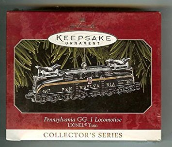 - HALLMARK ORNAMENT PENNSYLVANIA GG-1 LOCOMOTIVE #3 NEW