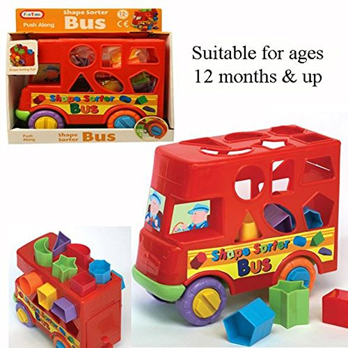 Fun Time Shape Sorter Bus - Shape Sorting Bus