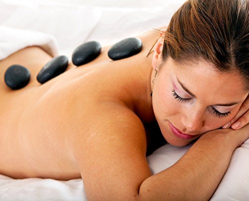 Massage Stone Water Heater with 36 Hot Rocks Therapy Massage Stones - Massage E-Book Included by Amethyst Lake (Image #5)