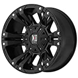 xd wheels 18 - XD Series by KMC Wheels XD822 Monster 2 Matte Black Wheel (18x9