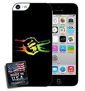Rastafari Peace Sign Rastafarian iPhone 5c Hard Case