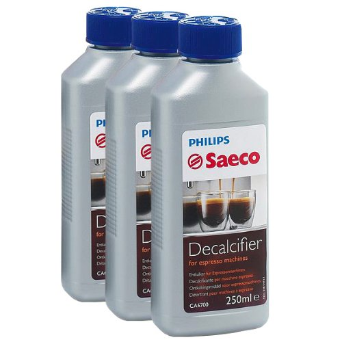 Learn More About Saeco Decalcifier for Espresso Coffee Machines, 250 ml, Pack of 3