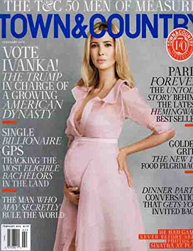 Town & Country Magazine (February, 2016) Ivanka Trump Cover