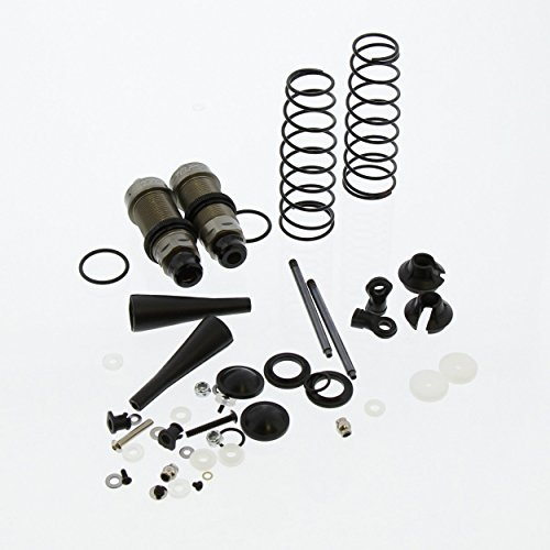 Team Losi 8IGHT-T 4.0 Truggy 1/8: Rear Shocks & Springs, Body, Shafts, Caps, End (Team Losi 8ight Rear)