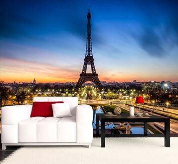 Tapeten Frankreich fototapete eiffelturm bei nacht frankreich kt266 größe 400x280cm