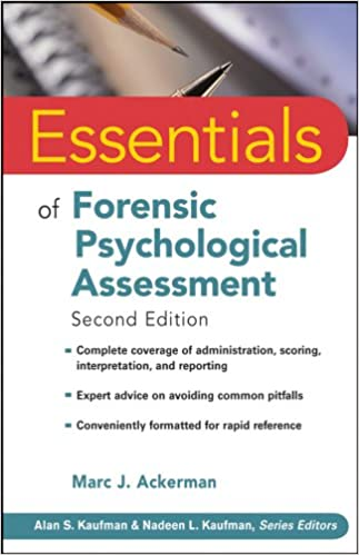 Essentials of Forensic Psychological Assessment Second