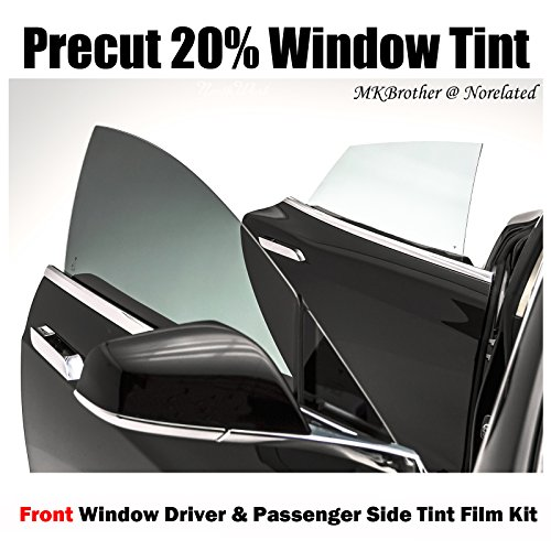 For 02-04 Mazda Protege5 20% VLT Black Computer Precut Front Window Tint Film Kit