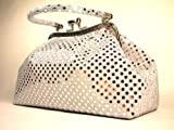 Handbag by WiseGloves Eve Metallic Silver Handbag Purse Evening Clutch Dress