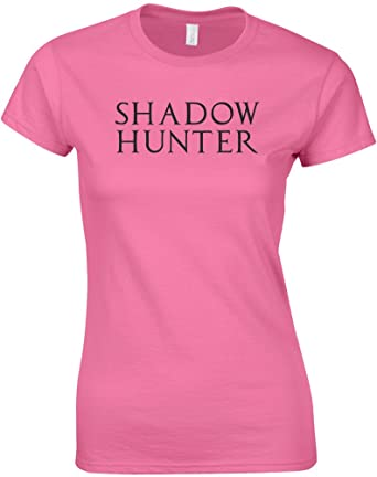 Shadow Hunter Ladies Printed T Shirt Amazon Clothing