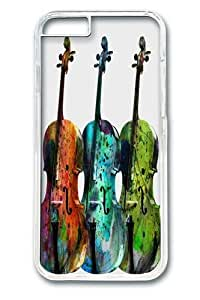 iPhone 6 Case, iPhone 6 Cases -MUSIC PC Hard Plastic Case for iphone 6 4.7 inch Transparent