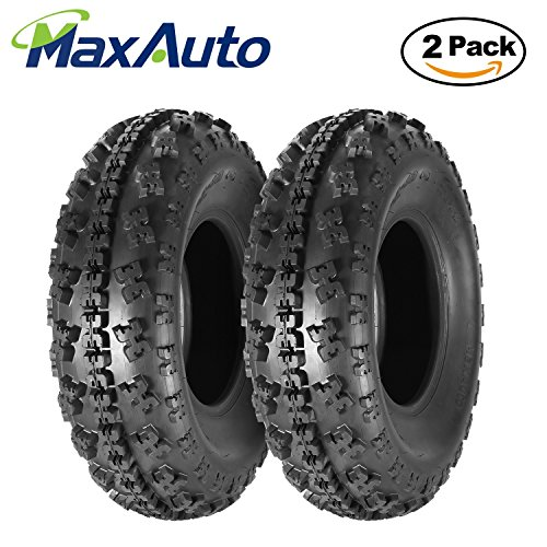 Set of 2 Sport ATV Tires AT 23x7-10 23x7x10 23x7x10 6PR Load Range C 36J by MaxAuto (Image #6)