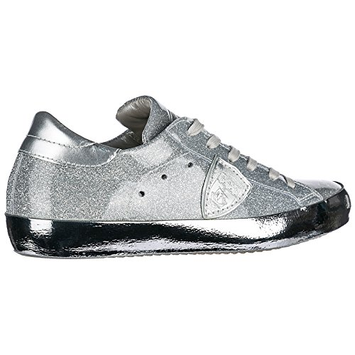 Argent Model Baskets Femme Sneakers Paris Chaussures Philippe HSwgqv
