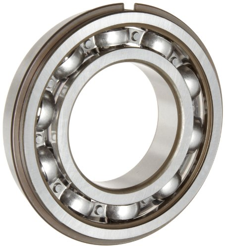 (SKF 6204 NRJEM Light Series Deep Groove Ball Bearing, Deep Groove Design, ABEC 1 Precision, Open, Snap Ring, Steel Cage, C3 Clearance, 20mm Bore, 47mm OD, 14mm Width, 1470.0 pounds Static Load Capacity, 2860.00 pounds Dynamic Load Capacity)