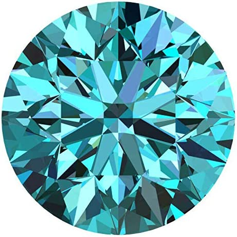 Amazon Com Certified 4 0 Mm 0 25 Cts Natural Loose Diamonds Fancy Blue Color Round Brilliant Cut Vvs1 Vvs2 Clarity 100 Real Diamonds By Indigems Jewelry
