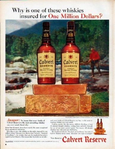 1961 Calvert Whiskey Ad