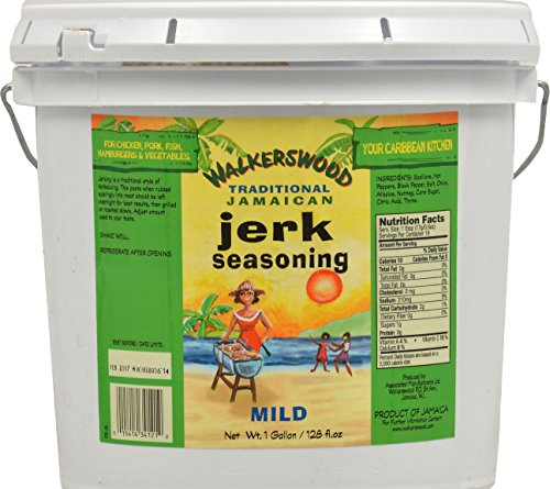 Mild Seasoning (Walkerswood Jamaican Jerk Seasoning Mild Jumbo, 128 Ounce)