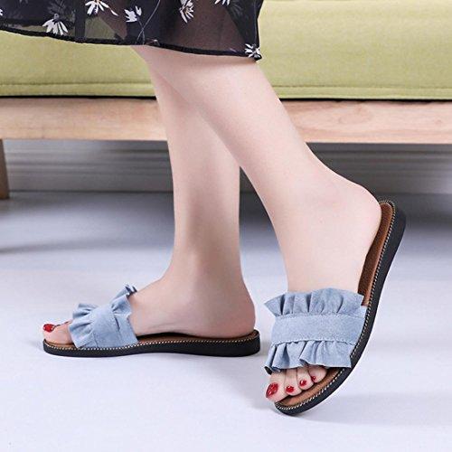 Femme Jamicy Bleu Cheville Bride Sandals XqFv0B
