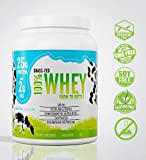 Grass Fed Natural Whey Undenatured 100% Grass Fed Whey Protein Powder, US Farm to Bottle, GMO, Soy, Gluten Free, No Preservatives, Muscle Growth & Recovery, Best Testing Protein (Unflavored, 1LB) Review