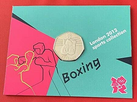 50p coins: 1 of 29 or LIGHTLY CIRCULATED *** Aquatic*** NEW Fevs Olympics 2012 dated 2011 In a card Collectible see list below