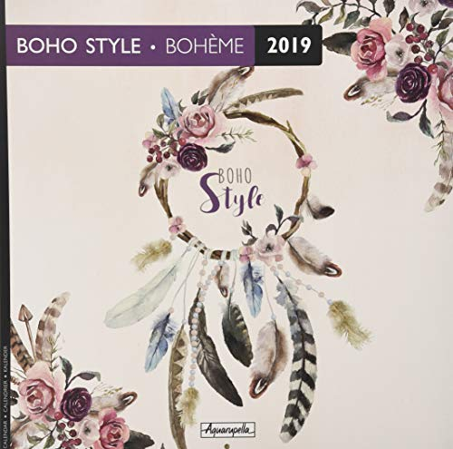 Aquarupella 2019 Boho Style by (Calendar)