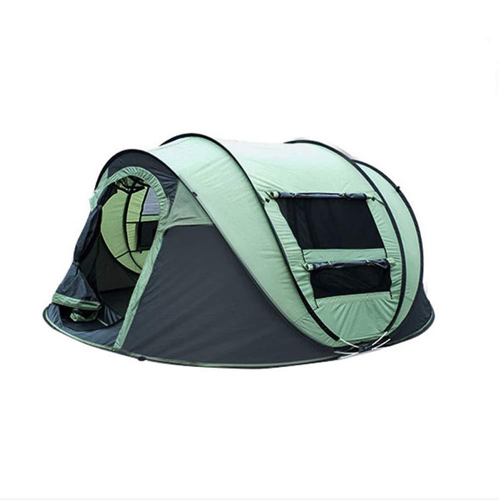 CCDZ 1 Sekunde Geschwindigkeit Automatisches Paarzelt Draussen Reise 3-4 Leute Regendichtes Campingzelt Am Strand