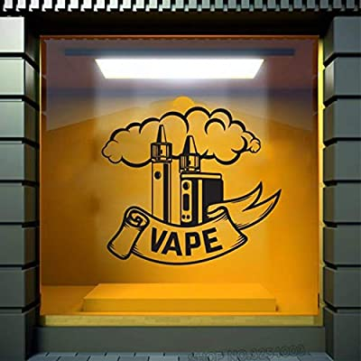 Ajcwhml Vape Shop Tatuajes de Pared Coma el sueño Vape Etiqueta de ...