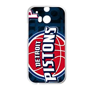 Detroit Pistons Hot Seller Stylish Hard Case For HTC One M8