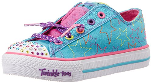 717f5e04f061 Skechers Kids 10387L Glitter Dayz Light-Up Sneaker (Little Kid ...