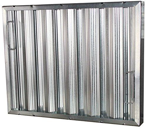 HMC Econo Baffle Galvanized Commercial Grease/Hood Filter, 16