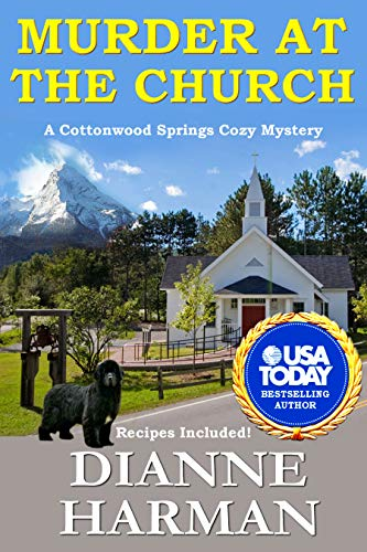 Murder at the Church: Cottonwood Springs Cozy Mystery Series by [Harman, Dianne]