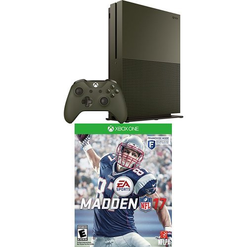 Xbox One S 1TB Console – Battlefield 1 Special Edition