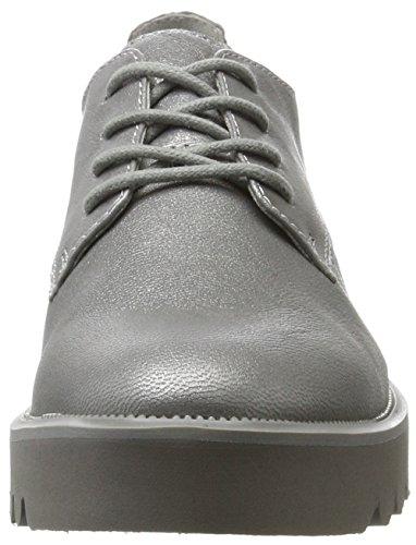 Tamaris Damen 23713 Silos Per Sneaker (crack Argento)