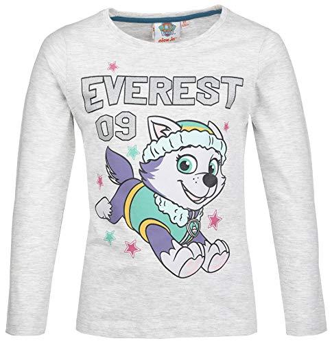 Paw Patrol T-shirt met lange mouwen voor meisjes, maat 98, 104, 110, 116, 128, glitter, warm, zacht, sky, Everest Kita…