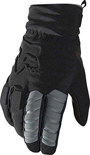 突き刺すシステム建物2016 Fox Racing Forge Cold Weather Gloves 2X ブラック 14164-001