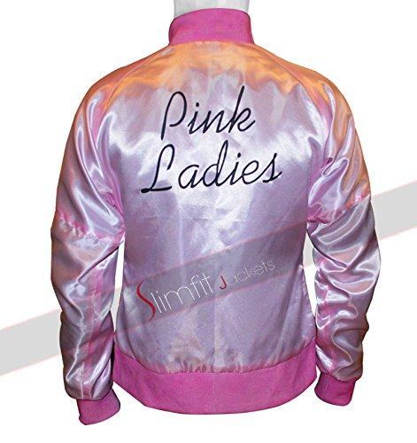 Grease 2 Pink Ladies Reversible Satin Jacket (Clearance Sale) (Grease 2 Pink Ladies)