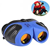 Binoculars for Children, DIMY 8x21 Compact Telescope Boys Gifts 10 Years Old to Wildlife & Theater Blue DL02